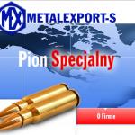 Логотип Metalexport