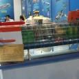 Уменьшенный макет перспективной глубоководной лаборатории для длительной работы на глубинах более 1500 м представлен на выставке в Пекине