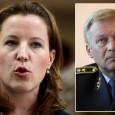 После восьми дней в должности отправлена в отставку министр обороны Чехии 37-летняя Каролина Пик. «Мое доверие упало даже не до нуля -- оно рухнуло в зону отрицательных значений», -- прокомментировал премьер Нечас свое решение. -- «Она вела себя в министерстве как оккупант на захваченной территории».