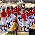 13. Исполнители зажигательных военных танцев с Фиджи