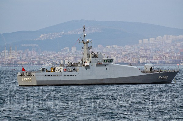 P-1200 TCG Tuzla ВМС Турции | turkishnavy.net