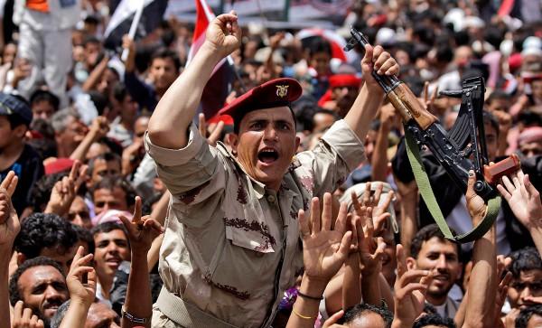 Йемен армия выступления