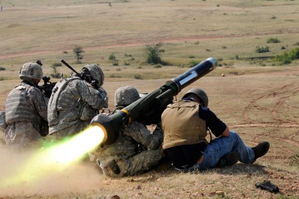 Стрельба ПТРК Javelin на индийско-американских учениях, октябрь 2009 г. | defense.gov