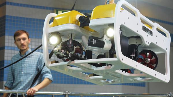 """Необитаемый подводный аппарат «Марлин-350» производства компании """"Тетис Про"""" (c) ria.ru"""
